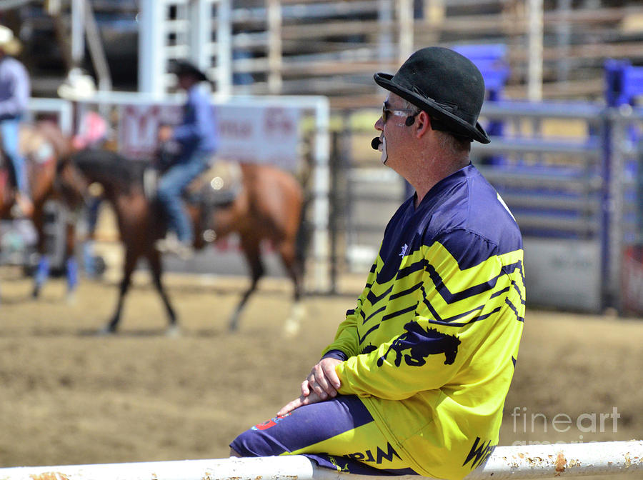 Bull Fighter Photograph - Rodeo Hero by Debby Pueschel
