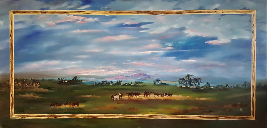 Rodeo Horses        60 Painting