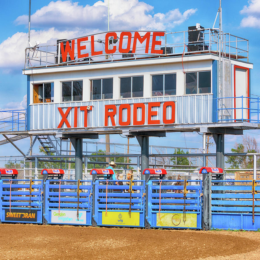 Rodeo Photograph - Rodeo Time In Texas - #2 by Stephen Stookey