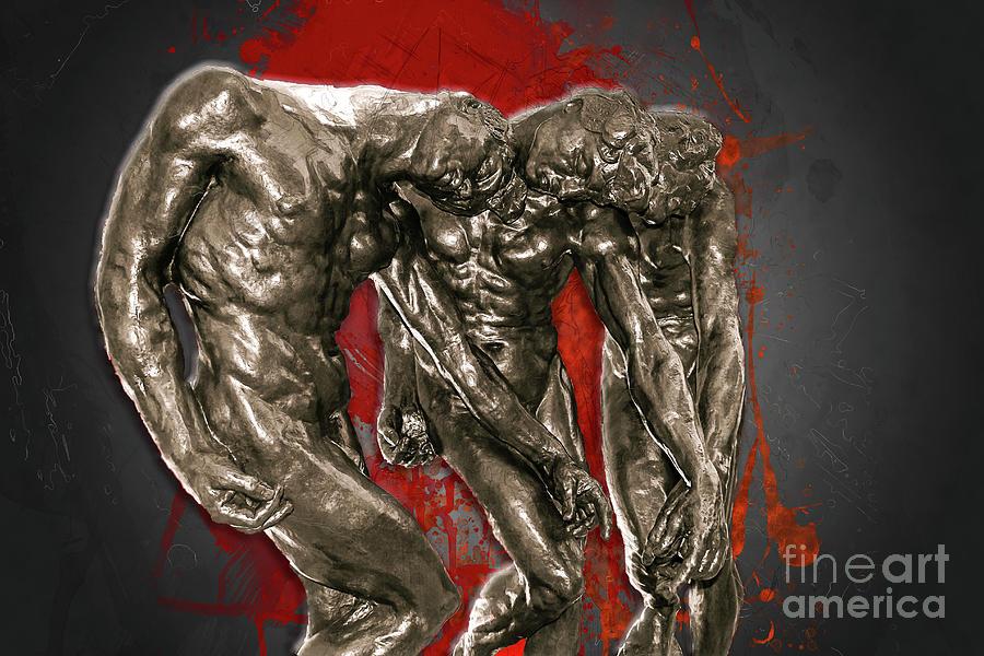 Rodin - The Three Shades by Carlos Diaz