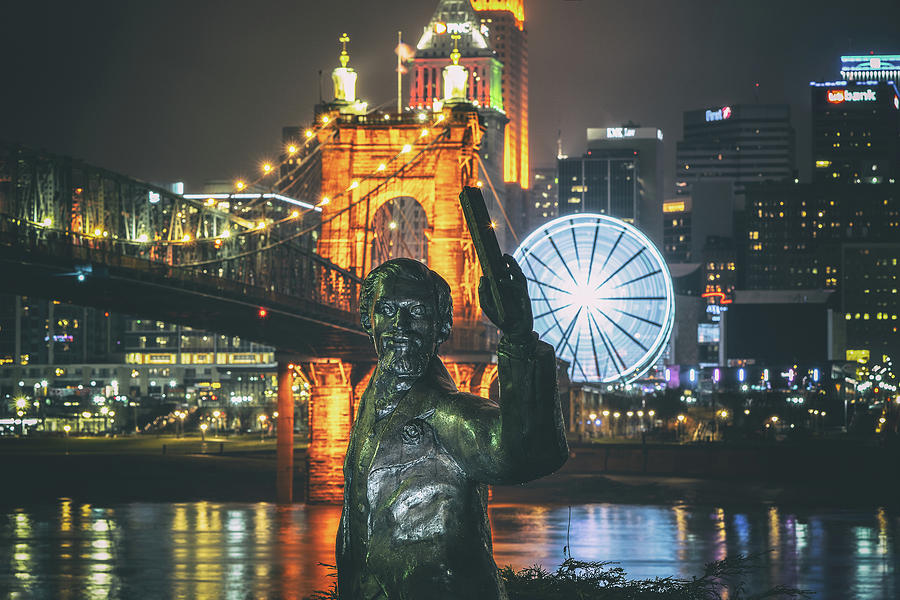 Roebling and The Riverside Wheel of Hypnosis by Jon Reynolds