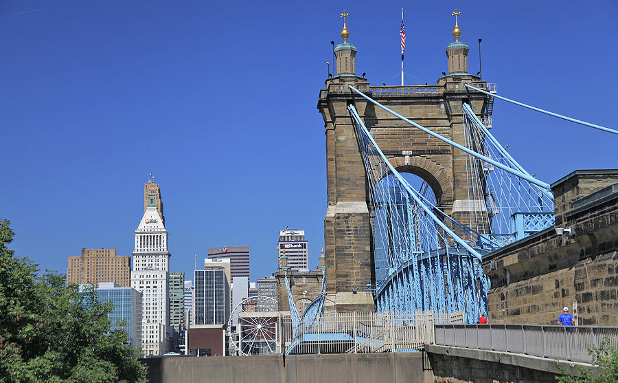 Roebling Bridge by Gary Kaylor