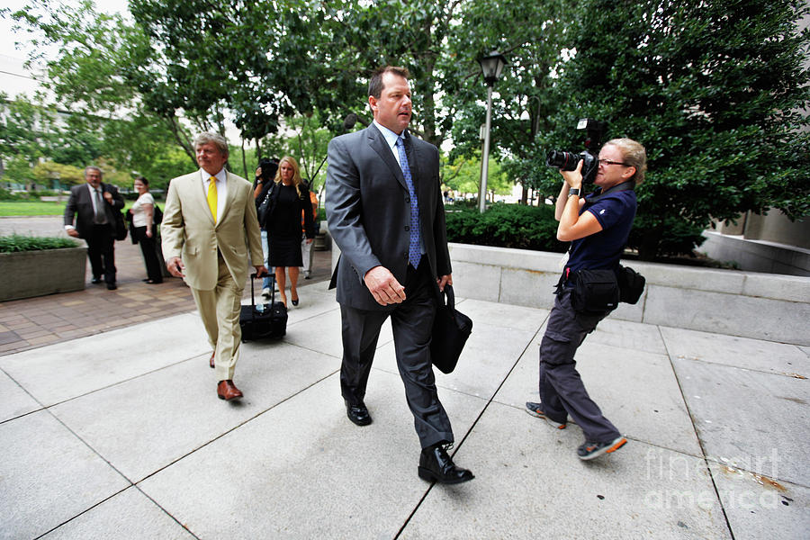 Roger Clemens Attends Hearing On Photograph by Chip Somodevilla