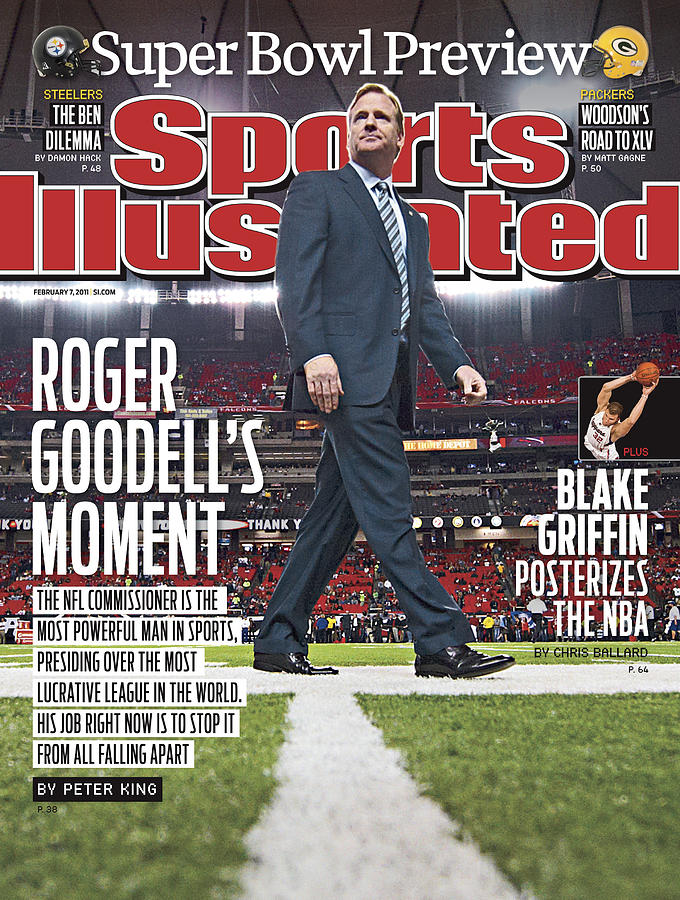 Roger Goodells Moment Sports Illustrated Cover Photograph by Sports Illustrated