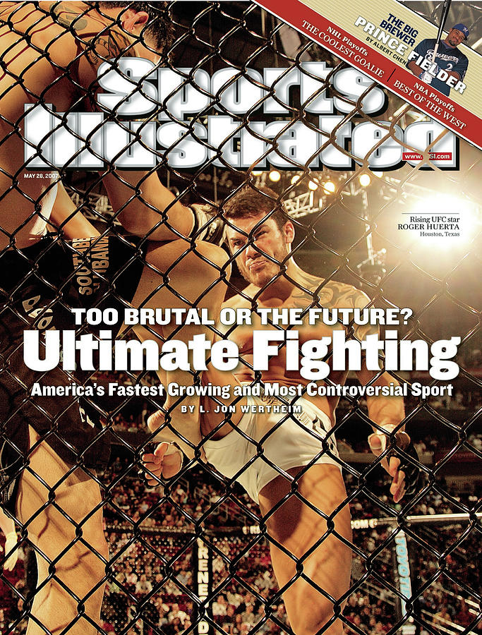 Roger Huerta, Ultimate Fighting Championship 69 Shootout Sports Illustrated Cover Photograph by Sports Illustrated