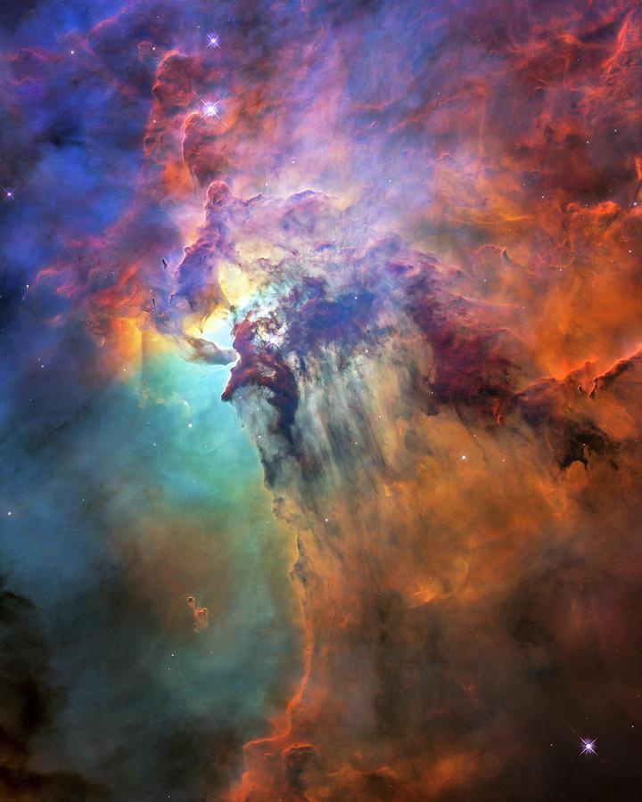 3scape Photograph - Roiling Heart Of Vast Stellar Nursery by Adam Romanowicz