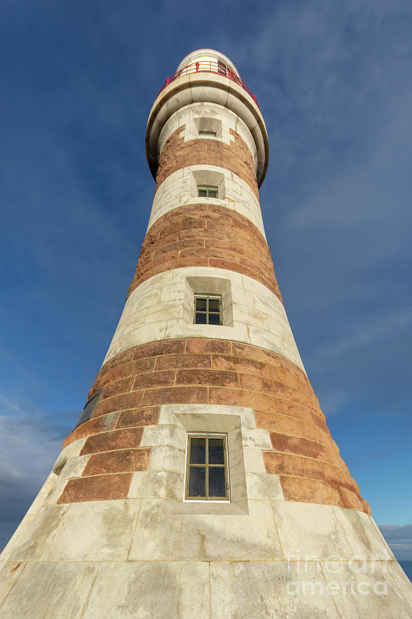 Roker Photograph - Roker Lighthouse 1 by Steev Stamford