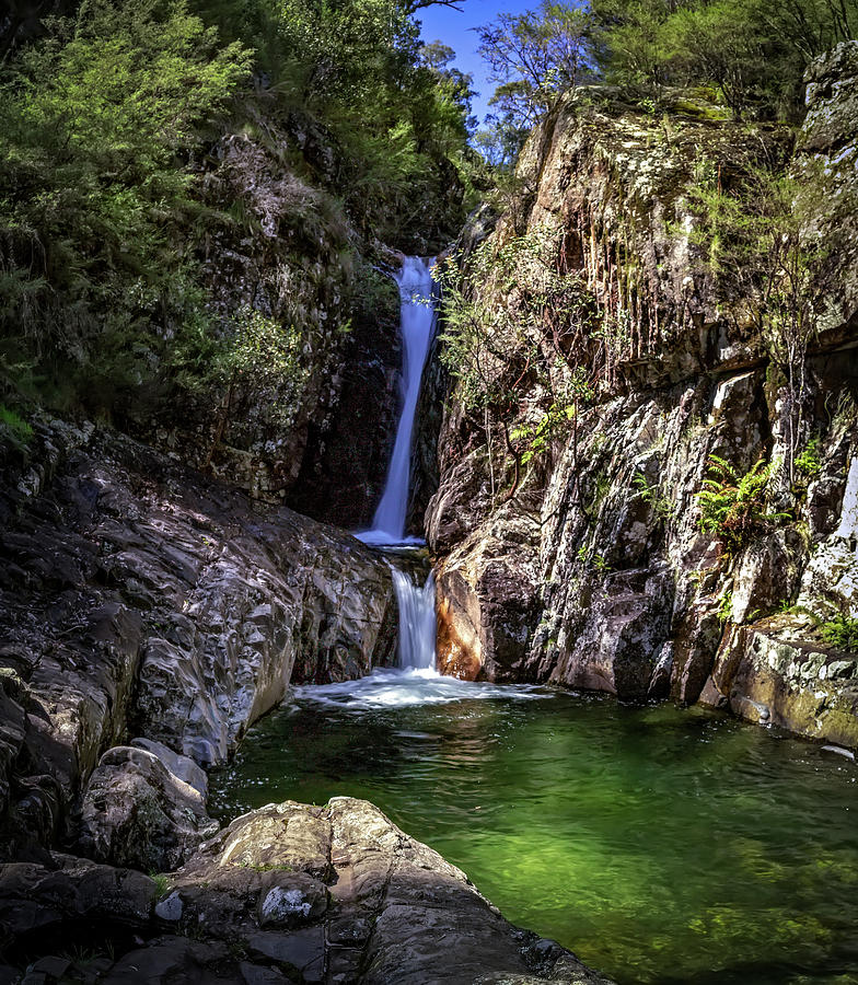 Rollalson Falls by Mark Lucey