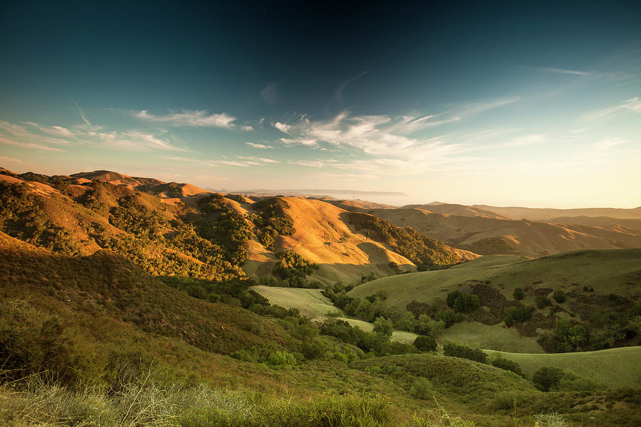 Rolling Hills In The Salinas Valley Photograph by Pgiam