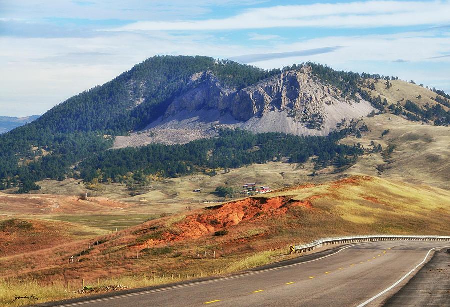 Rolling Hills in Wyoming USA by Gerlinde Keating - Galleria GK Keating Associates Inc