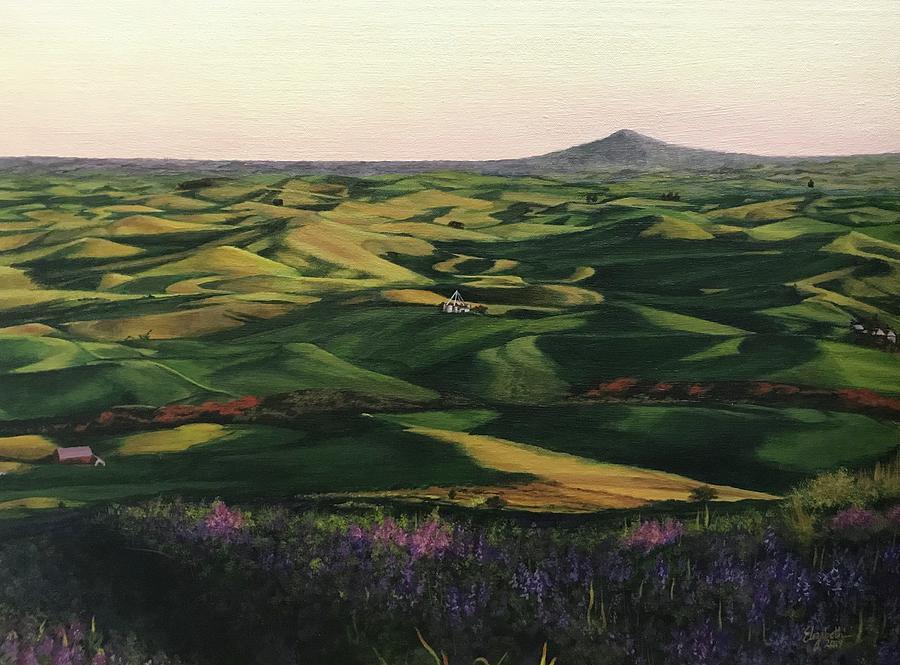 Rolling Hills of Palouse by Elizabeth Mundaden