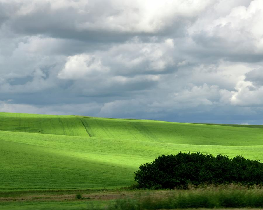 Rolling Hills Of The Palouse by Jerry Sodorff