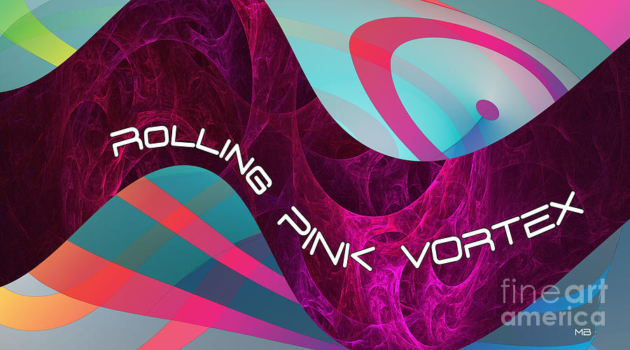 Rolling Pink Vortex-2 by Doug Morgan