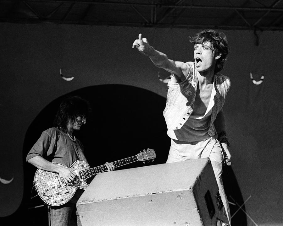 Rolling Stones Live Photograph by Larry Hulst