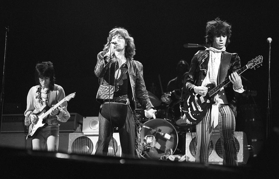 Rolling Stones On Stage Photograph by Express