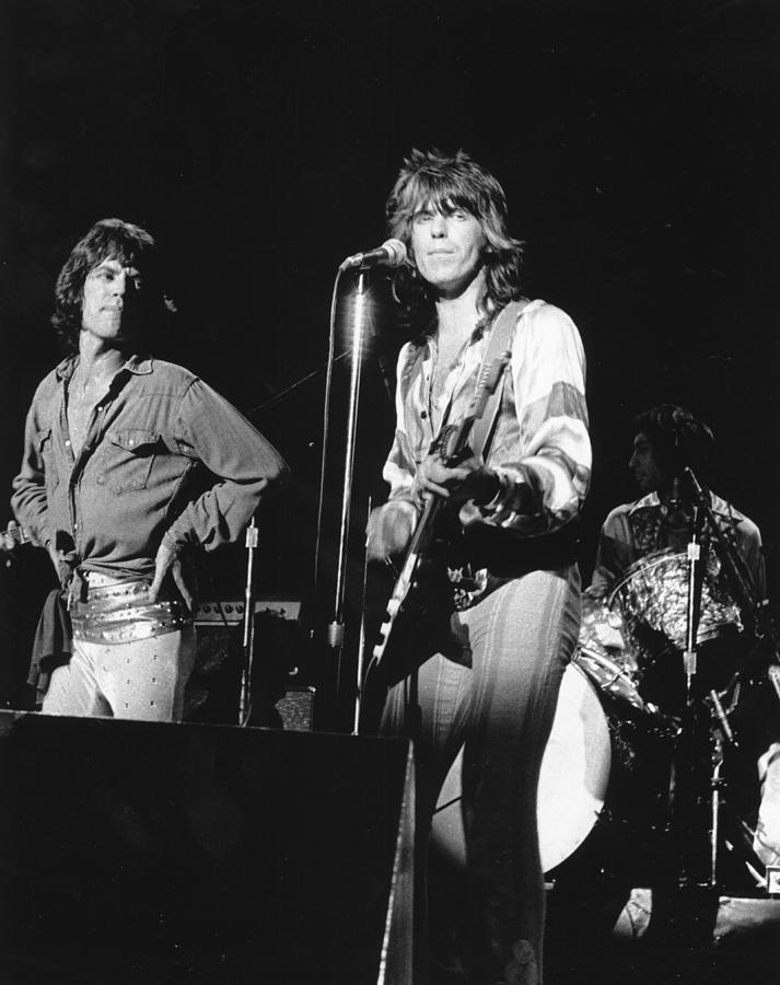 Rolling Stones Performing In Sf Photograph by Larry Hulst