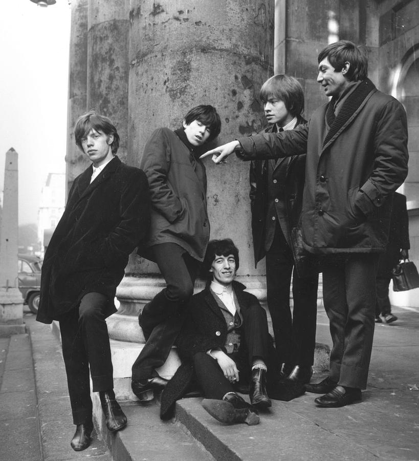 Rolling Stones Photograph by Terry Disney
