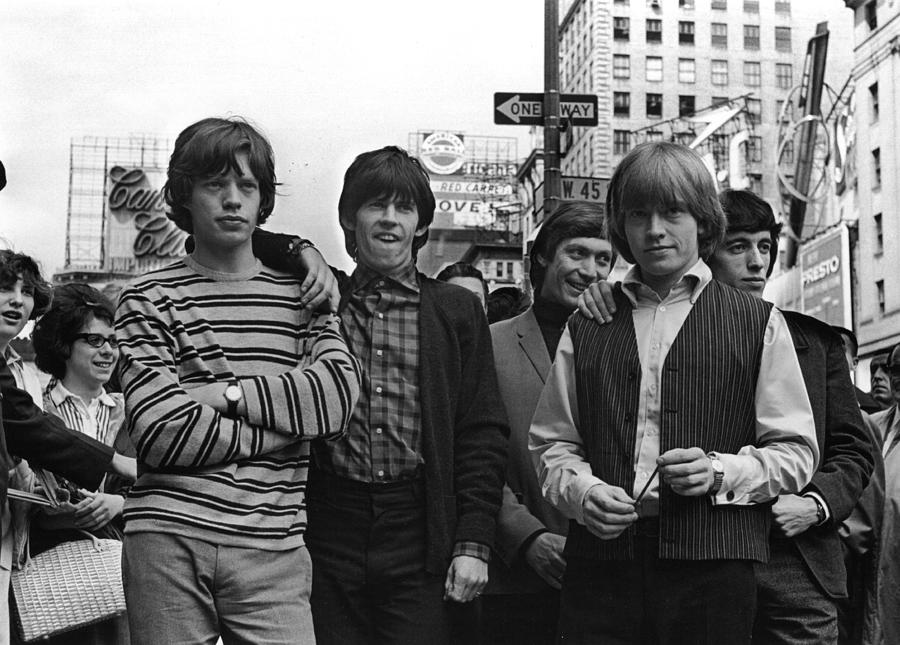 Rolling Stones Photograph by William Lovelace
