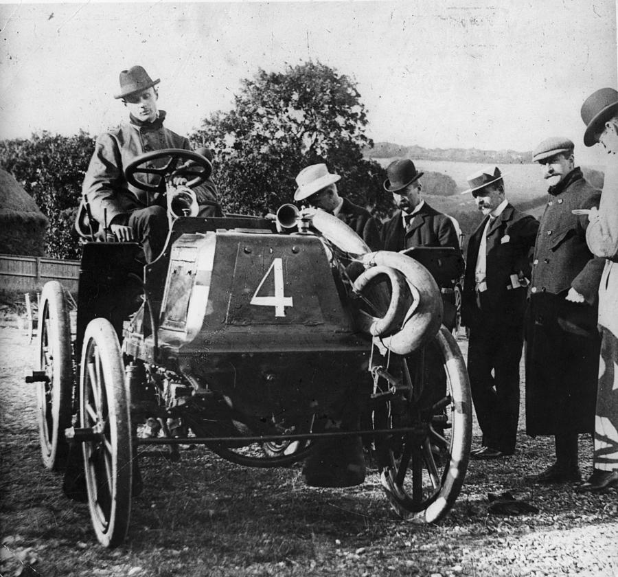 Rolls Racing Car Photograph by Hulton Archive
