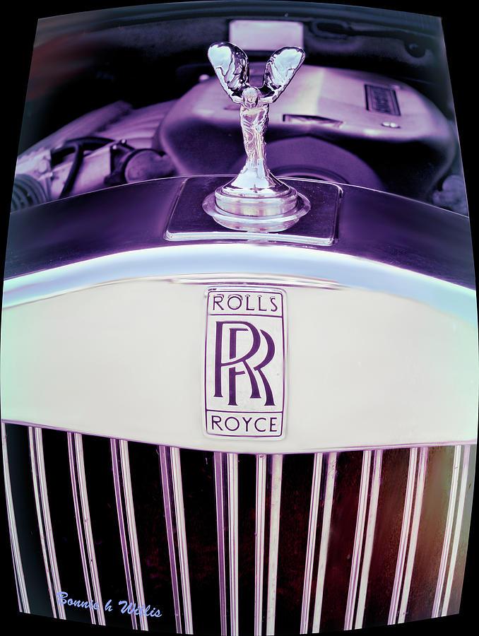 Rolls Royce Automobile Photograph by Bonnie Willis