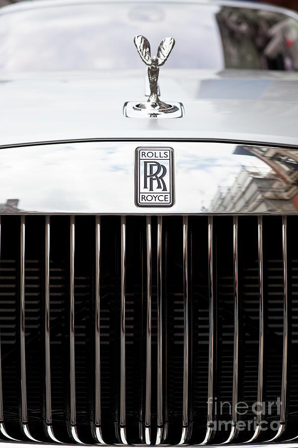 Rolls Royce Ghost Luxury Car Photograph by Zodebala