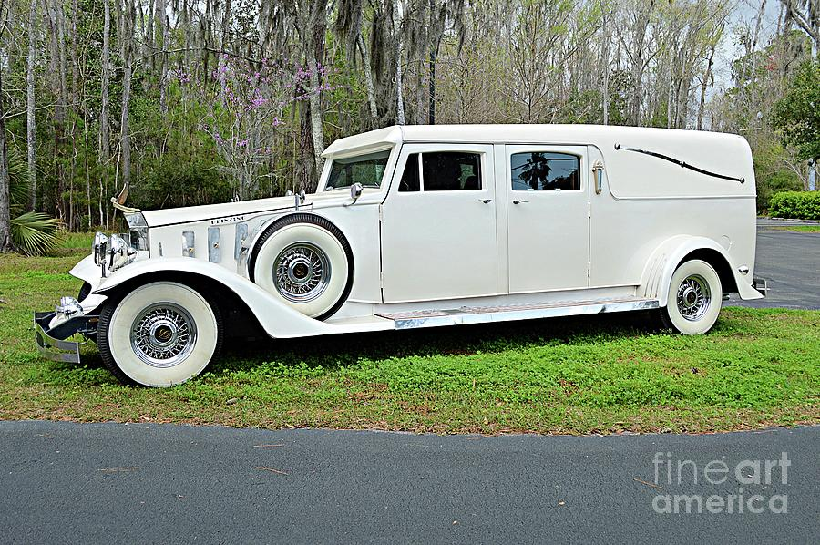 Rolls Royce Hearse II Photograph By Linda Covino