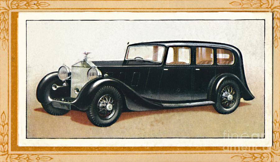 Rolls-royce Phantom IIi, C1936 Drawing by Print Collector