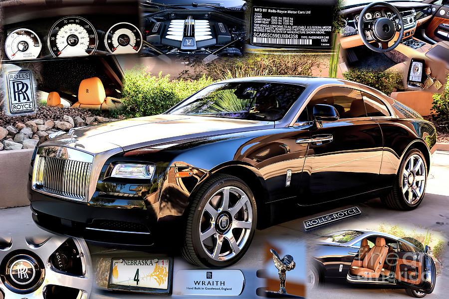 Rolls Royce Wraith by Charles Abrams