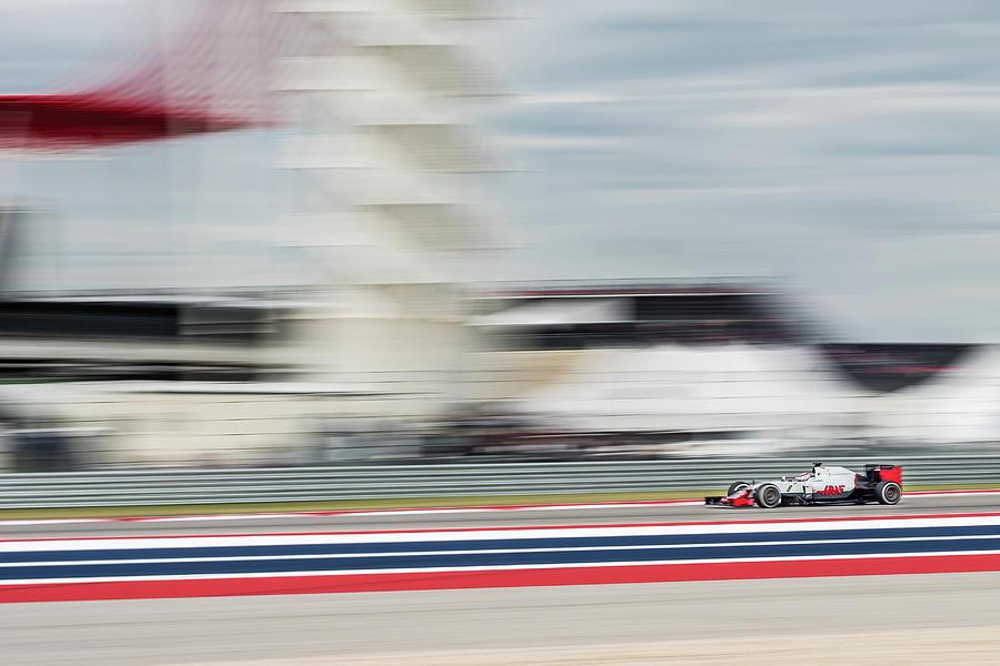 Romain Grosjean, Haas F1 by Dave Wilson
