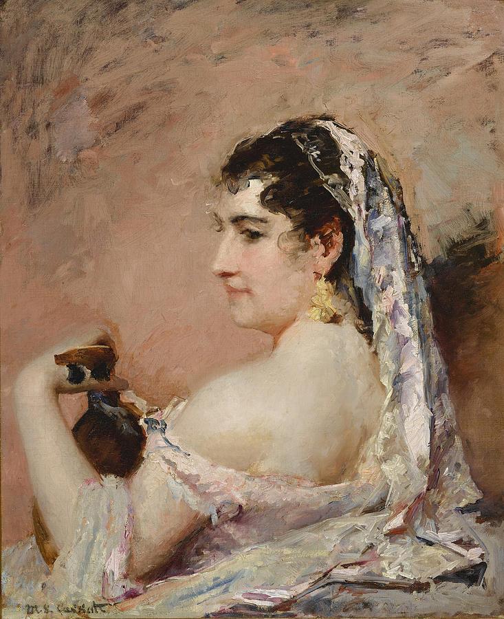Roman Girl by Mary Stevenson Cassatt