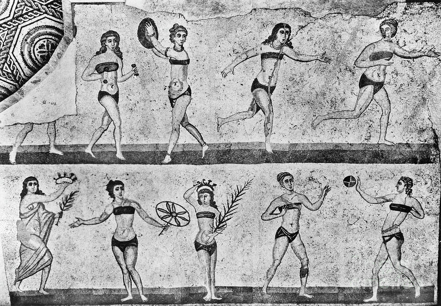 Roman Gymnasts by Granger