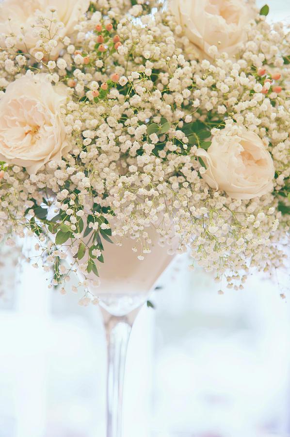 Romantic Floral Wedding Decor 5 by Jenny Rainbow