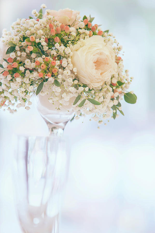 Romantic Floral Wedding Decor 6 by Jenny Rainbow