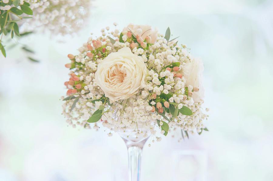 Romantic Floral Wedding Decor 7 by Jenny Rainbow