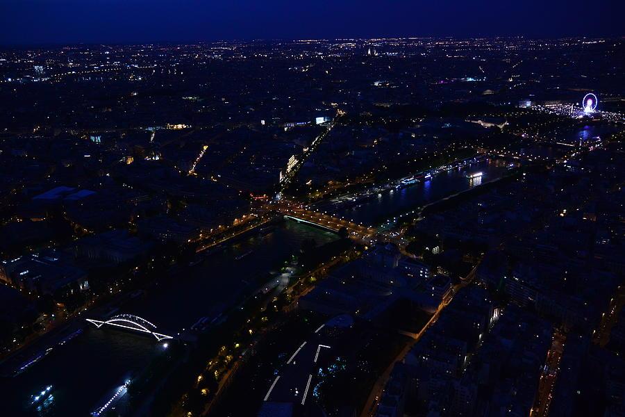 Paris Photograph - Romantic Paris Cityscape by Two Small Potatoes