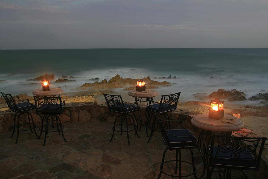 Romantic Restaurant Photograph by Imaginegolf