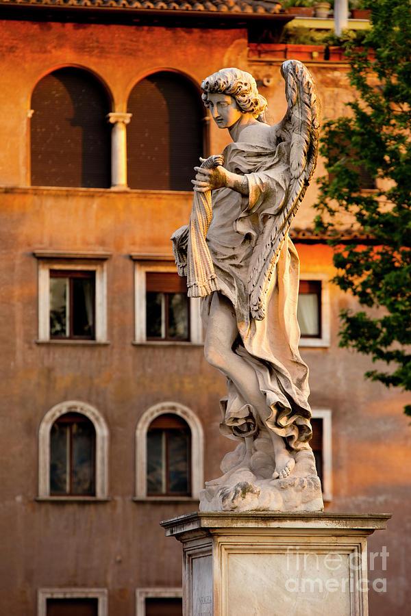 Rome Angel Photograph