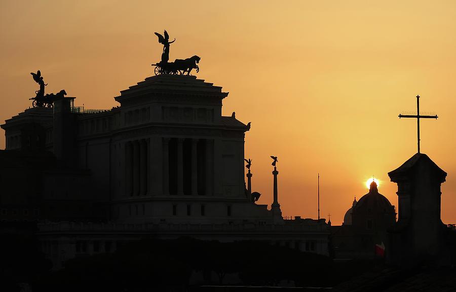 Rome at Sunset by Robert Blandy Jr