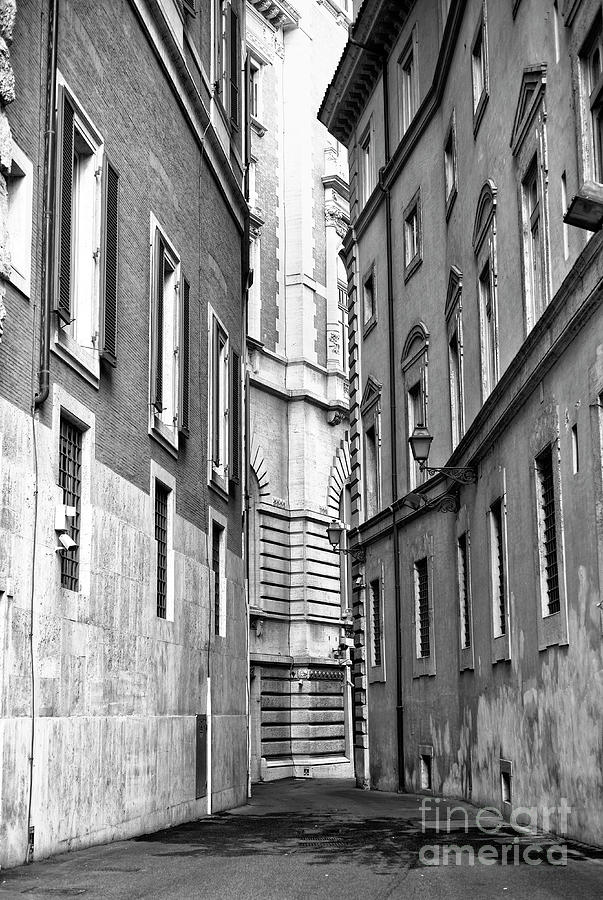 Rome Buildings Photograph - Rome Beyond The Building by John Rizzuto