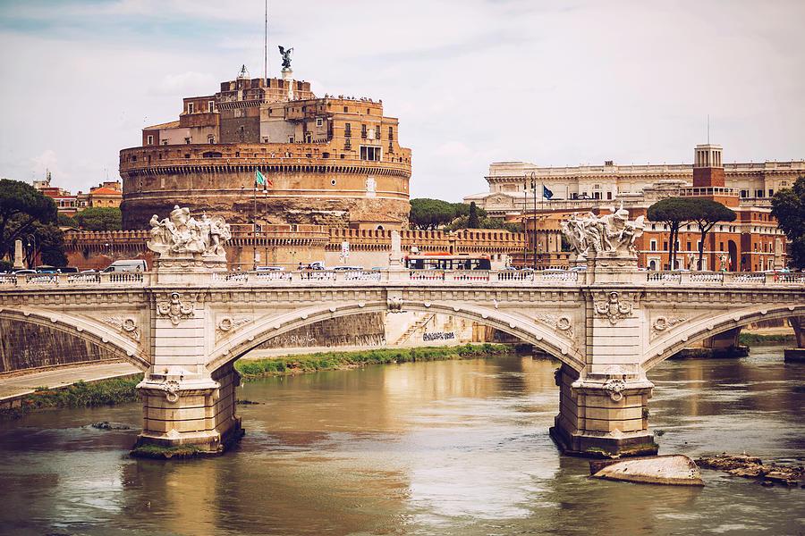 Rome - Castle saint Angelo, Italy by Eduardo Huelin