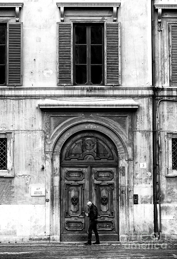 Rome Photograph - Rome Italy Mood by John Rizzuto