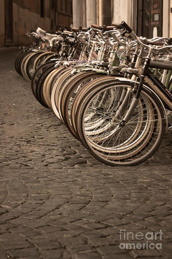 Cobblestone Photograph - Rome Street Photo by Stefano Senise