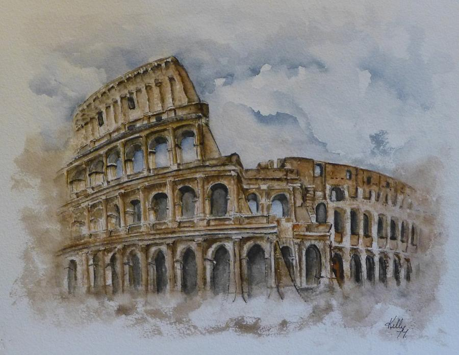 Rome's Colosseum by Kelly Mills