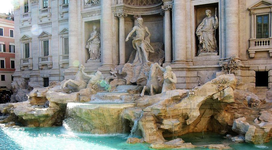 Rome's Trevi Fountain by Marla McPherson