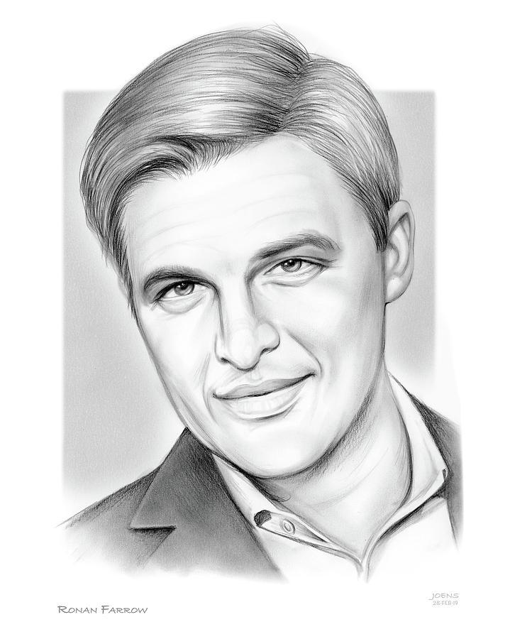Ronan Farrow Drawing