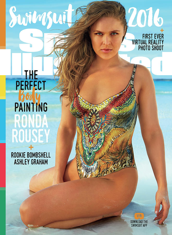 Ronda Rousey Swimsuit 2016 Sports Illustrated Cover Photograph by Sports Illustrated
