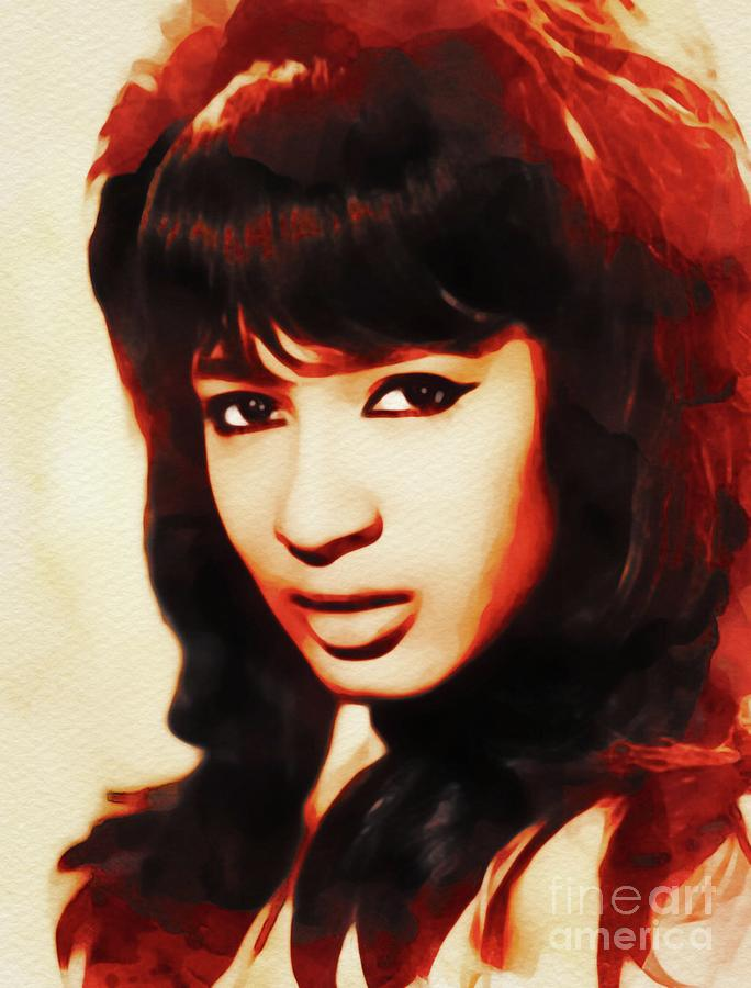 Ronnie Spector, Music Legend Painting