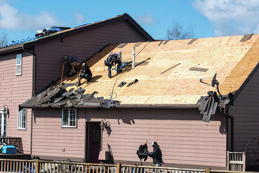 Roofers in Everson by Tom Cochran