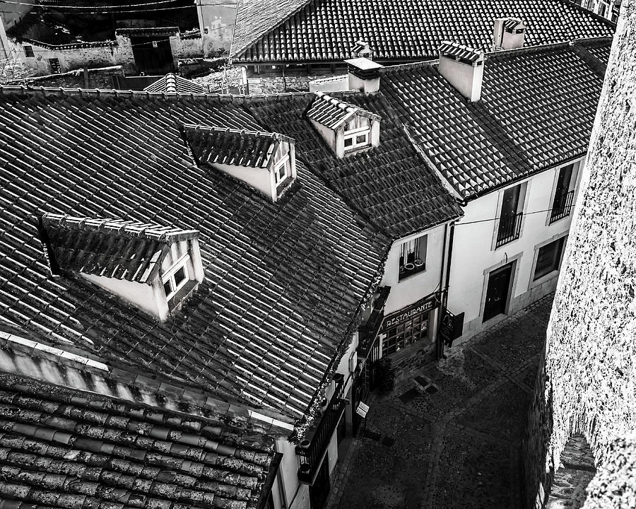 Roofs Photograph - Roofs II by Borja Robles