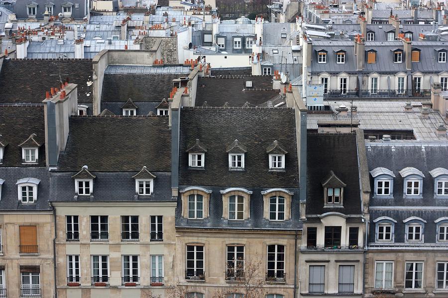 Roofs Of Paris Photograph by Landscape And Urban Landscape